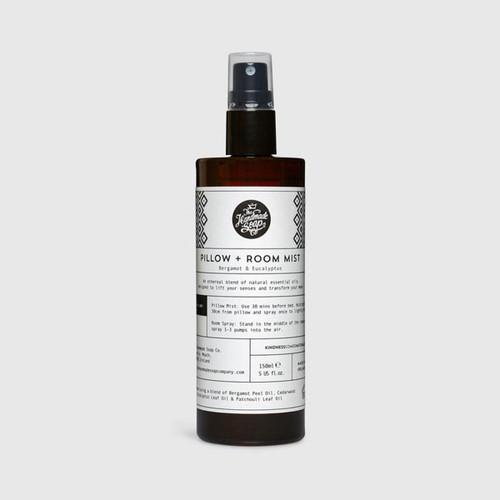 The Handmade Soap Company Bergamot & Eucalyptus Room + Pilllow Mist