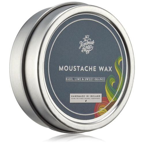 The Handmade Soap Company Basil, Lime & Sweet Orange Moustache Wax