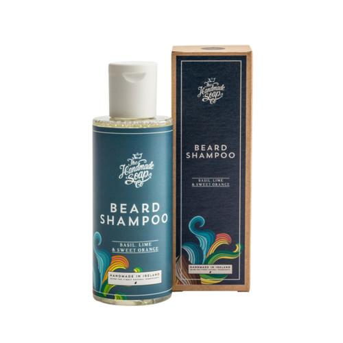 The Handmade Soap Company Basil, Lime & Sweet Orange Beard Shampoo