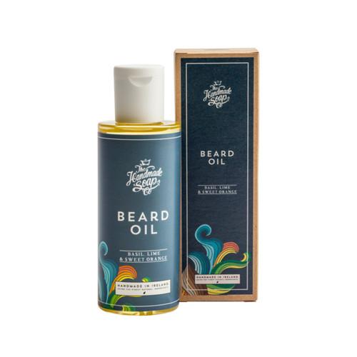 The Handmade Soap Company Basil, Lime & Sweet Orange Beard Oil