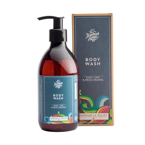 The Handmade Soap Company Basil, Lime & Sweet Orange Hair & Body Wash