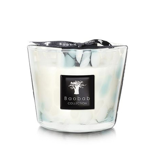 Baobab Collection Pearls Sapphire Candle