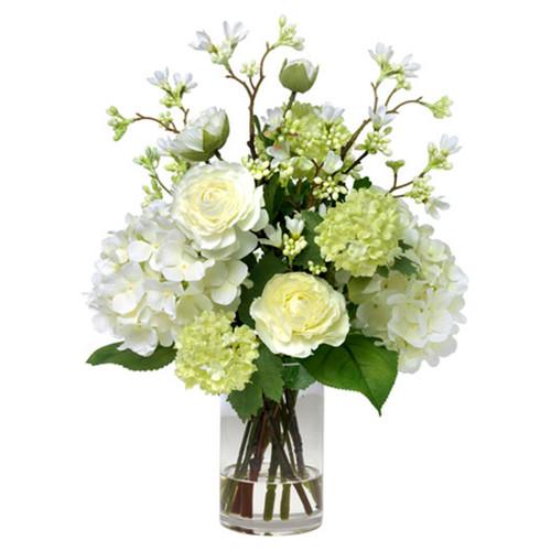 Diane James Blooms Ranunculus Hydrangea And Blossom Bouquet