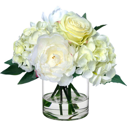 Diane James Blooms Rose Peony And Hydrangea Bouquet