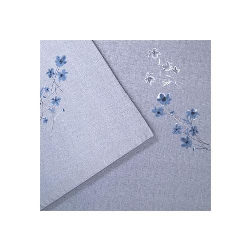 Hugo Boss Linen Flowers Flat Sheet