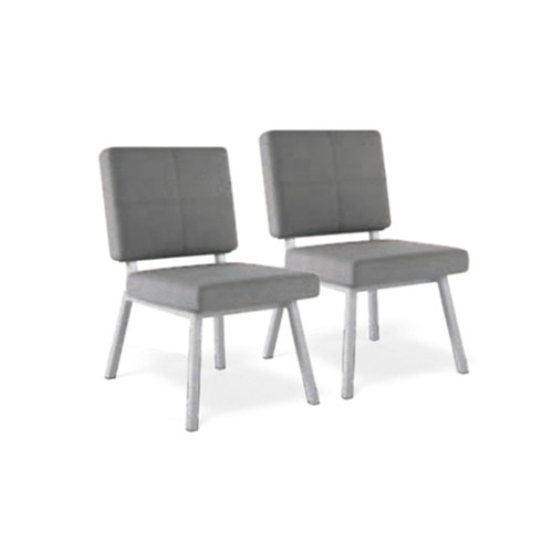 Madison PAIR Dining Chairs (Graphite)