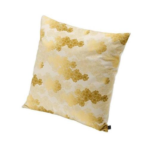Sferra Hana Kiriko Ivory/Gold Cushion