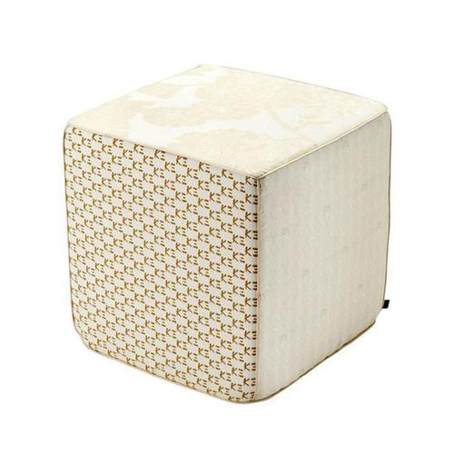 Sferra Pivoine Pouf Cube