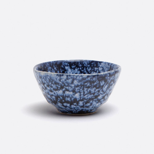 Blue Pheasant Isla Spotted White/Navy Cereal/Ice Cream Bowl - Pack of 4