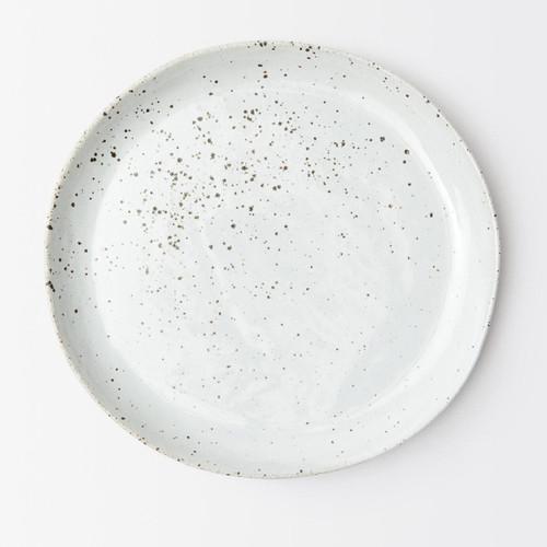 Blue Pheasant Marcus White Salt Glaze Dinner Plate - Pack of 4