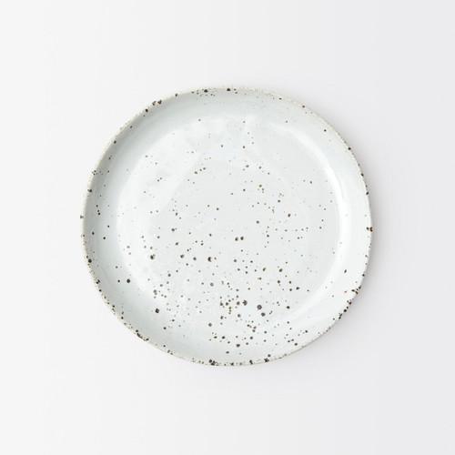 Blue Pheasant Marcus White Salt Glaze Salad/Dessert Plate - Pack of 4