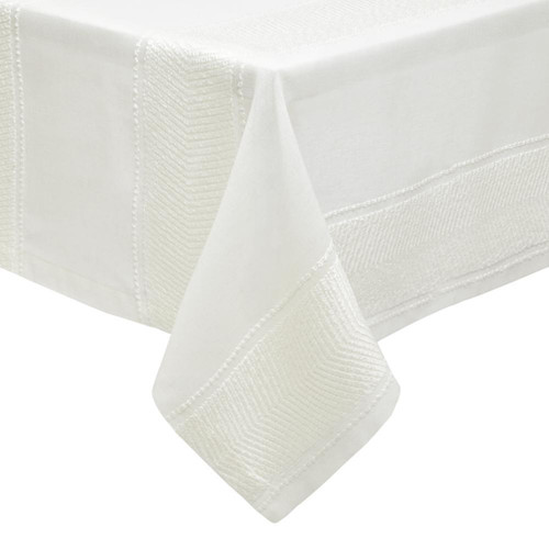 Mode Living Bianca Ivory Tablecloth