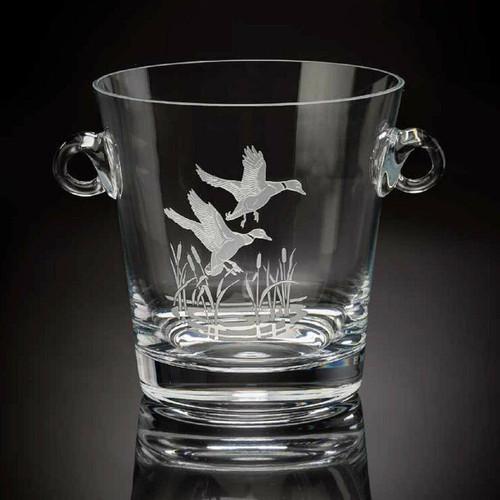 Julie Wear Designs American Ducks Flying Mallard Ice Bucket/Cooler