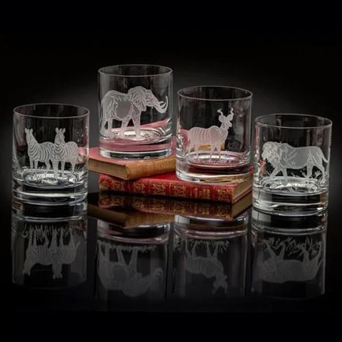 Julie Wear Designs Safari Safari II Old Fashion Assorted Glass