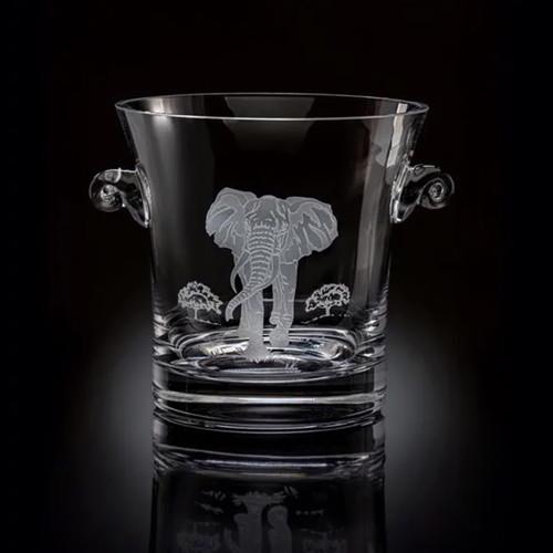 Julie Wear Designs Safari Elephant Ice Bucket/Cooler