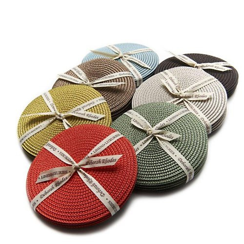Deborah Rhodes Round Coasters, Set of 4