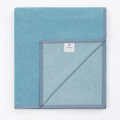 Marzotto Lab Lanerossi Cortina Extrafine Merino Wool Double Face Blanket