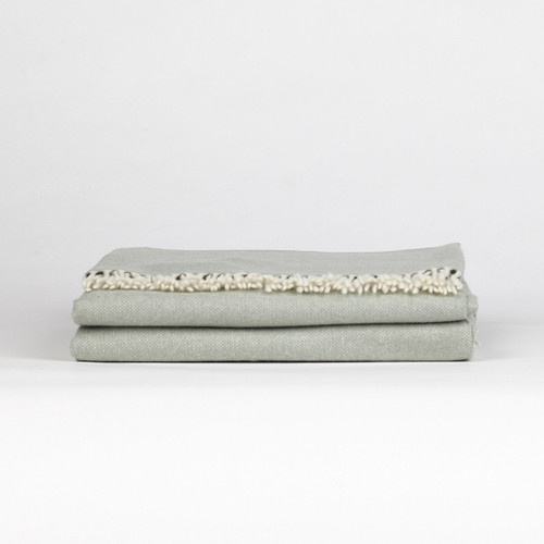 Marzotto Lab Olimpo Yarn Dyed Cashmere Throw