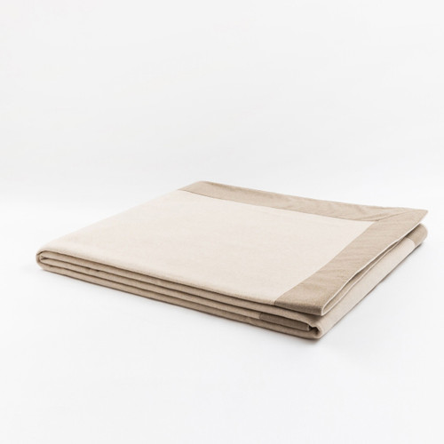 Mazotto Lab Geisha Cashmere Plain And Double Face Blanket