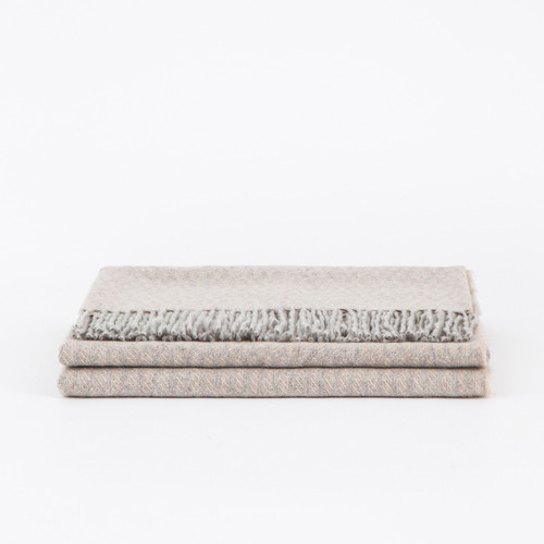 Mazotto Lab Grifone Blend Cashmere Jacquard Throw