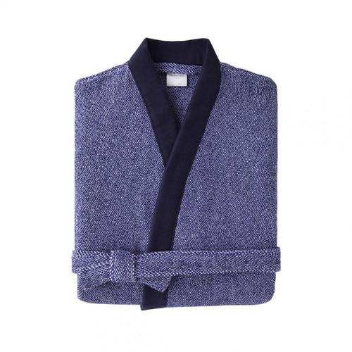 Yves Delorme Men's Abri Kimono Bathrobe