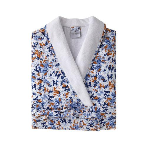 Yves Delorme Women's Baie Shawl Collar Bathrobe