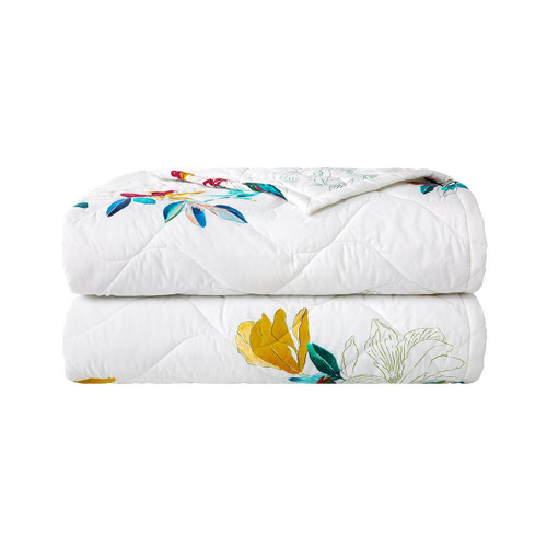 Yves Delorme Fougue Quilted Coverlet
