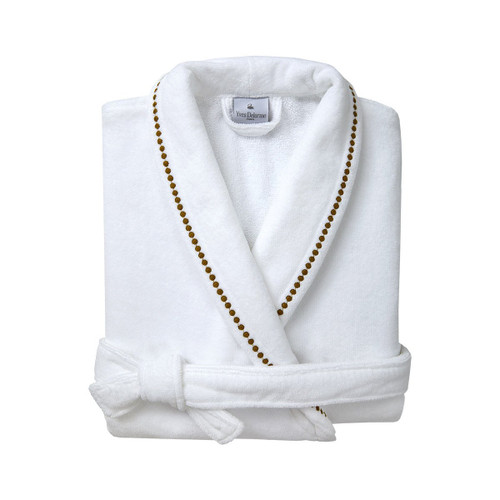 Yves Delorme Victorie Shawl Collar Bathrobe
