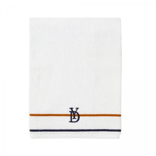 Yves Delorme Dyade Blue/Orange Guest Towel