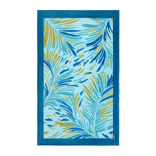 Yves Delorme Formose Printed Veloue Beach Towel
