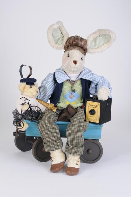 Karen Didion Wagon Bunny