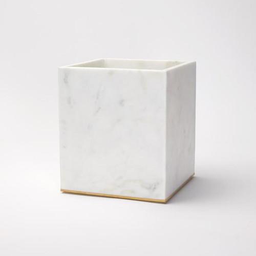 Sferra Pietra Marble Waste Basket