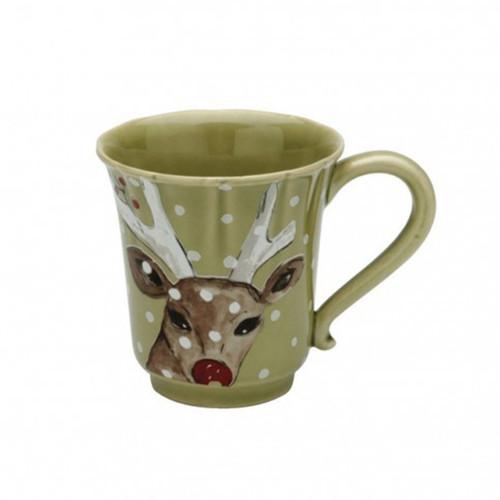 Casafina Coffee Mug Deer Friends