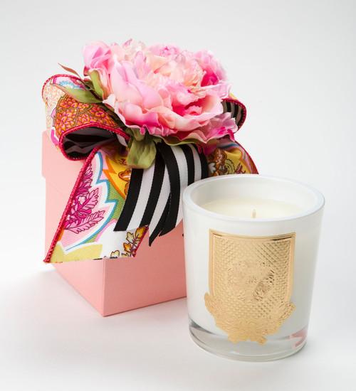 Lux Fragrances Lover's Lane 14oz Flower Box Candle