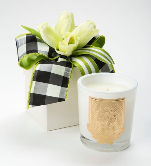 Lux Fragrances Lime Blossom 14oz Flower Box Candle