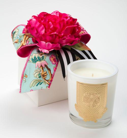 Lux Fragrances Della Robbia 14oz Flower Box Candle