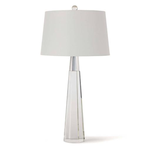 Regina Andrew Carli Crystal Table Lamp- Nickel finish