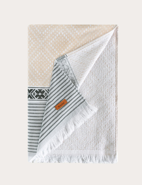 BRICINI BELIZE BEACH TOWEL 35''X72'' MULTICOLOR