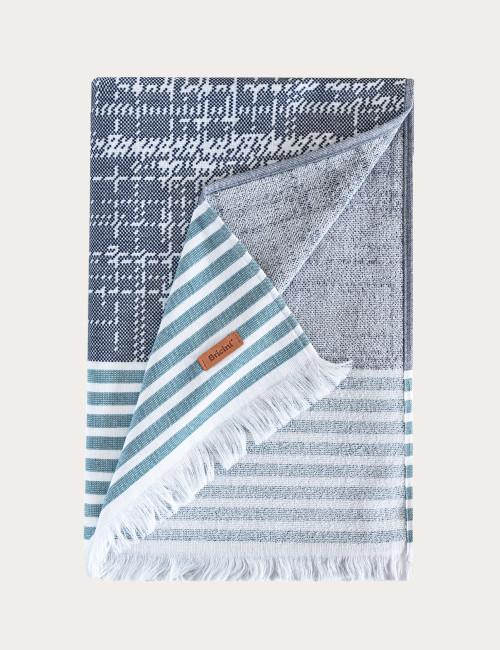 BRICINI BOGOTA BEACH TOWEL 35''X72'' MULTICOLOR
