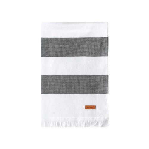 "BRICINI GENOVA BEACH TOWEL 35""X72"" STORM"