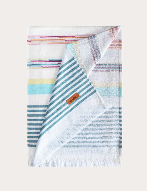 BRICINI HORIZON BEACH TOWEL 35''X72'' MULTICOLOR