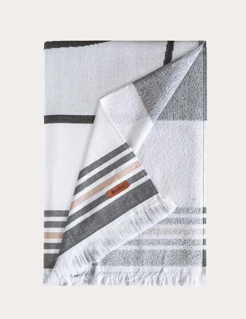 BRICINI MAKADI BEACH TOWEL 35''X72'' MULTICOLOR