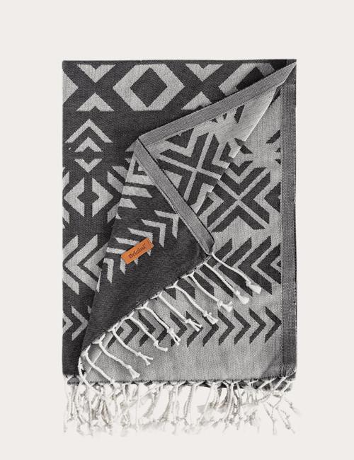 BRICINI MALCATA BEACH TOWEL 39''X72'' MULTICOLOR