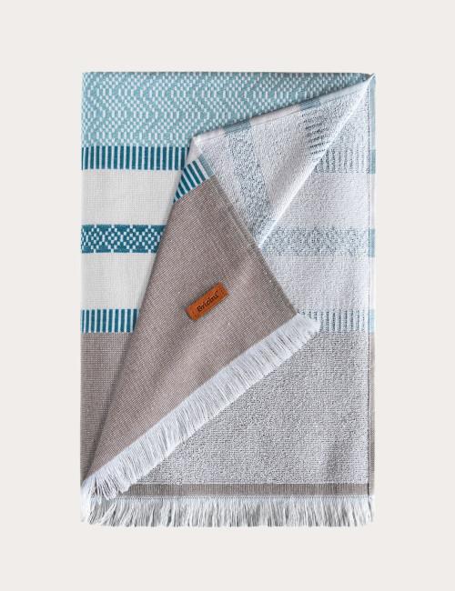 BRICINI MIRAMAR BEACH TOWEL 35''X72'' MULTICOLOR
