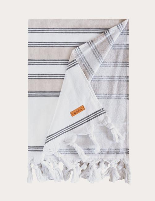 """BRICINI SAND BEACH TOWEL 35""""X72"""""""