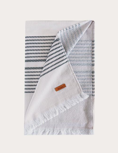 BRICINI PENICHE BEACH TOWEL 35''X72'' STORM