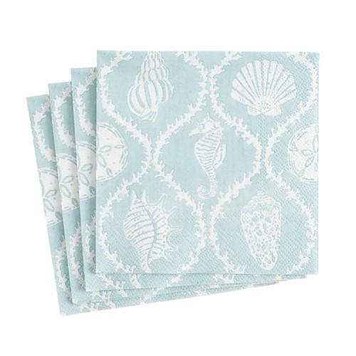 Caspari Seychelles Paper Cocktail Napkins - 20 Per Package