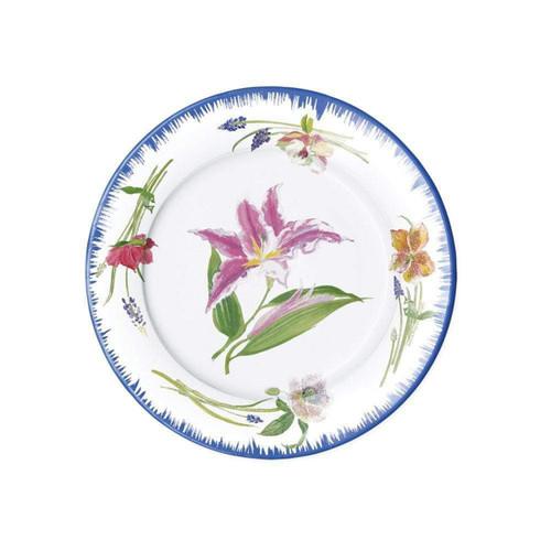 Caspari Isabelles Garden Paper Salad & Dessert Plates - 8 Per Package