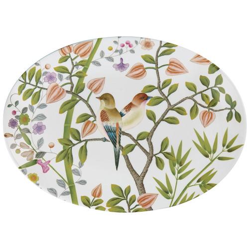 Raynaud Paradis Paradis White Oval Dish/Platter