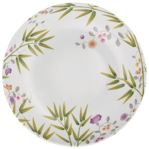 """Raynaud Paradis 8.6"""" White Rim Soup Plate"""